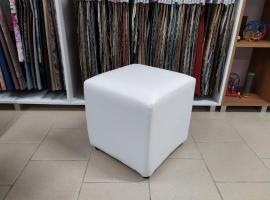 Кубик банкетка (Белый)